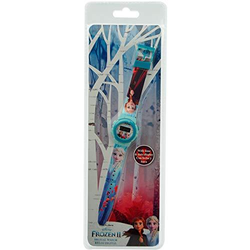 Frozen Reloj Digital ke02 2 Pulsera, Adultos Unisex, Multicolor, Unico