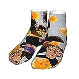 Dragonball Z Son Goku Super Saiyan Monkey Thickened Stretch Knit Socks Black Heel Thick Socks 30 Cm