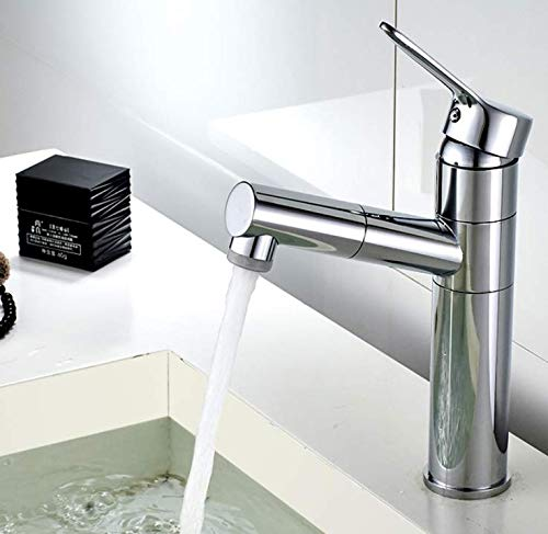 Badkamerkraan wastafel warm en koud bekken kraan hoogte draaibare badkamer toilet wastafel kraan