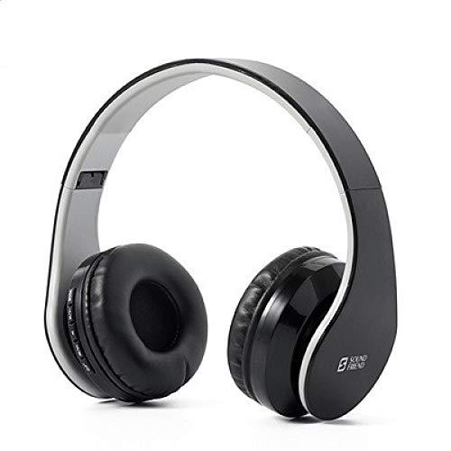Auricular Bluetooth MP3 Radio Wireless Estéreo Accesorios de Ordenador Auricular Auriculares Bluetooth: Version 4.0 + EDR negro