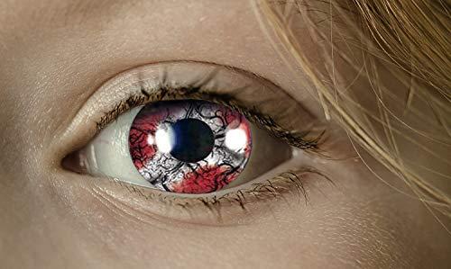 KarnevalsTeufel Fun-Linsen Demon Kontaktlinsen getönt