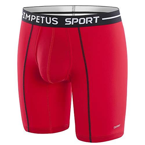IMPETUS Herren Boxershort Gr. XL, rot