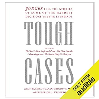 Tough Cases audiobook cover art