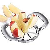 Apple Slicer Corer Cutter HEAVY DUTY, 8 Blades Easy to Use, Stainless Steel Apple Slicer TREBLEWIND