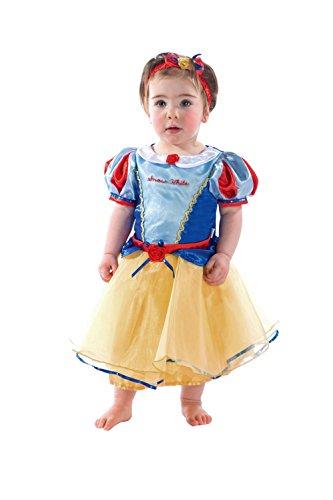 Disney Princesas Princesa de la Nieve Disfraz bebé, Multicolor, 18-24 Meses (Travis Designs DCPRSW18)