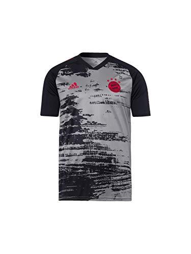 adidas Jungen FI6230 T-Shirt, Gripal/Negro, 128 cm