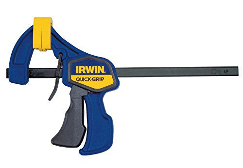 IRWIN QUICK-GRIP Bar Clamp, One-Handed, Mini, 6-Inch (1964742)