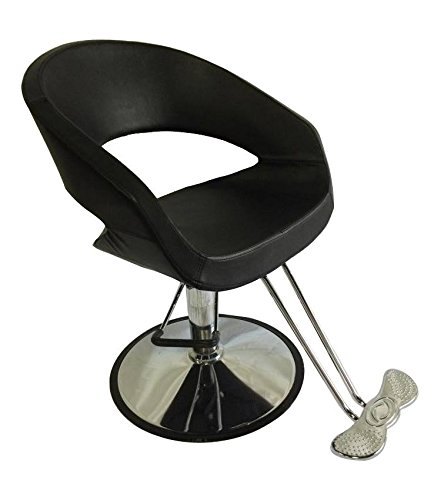 Oval Barber Chair Comfort Styling Salon Beauty...