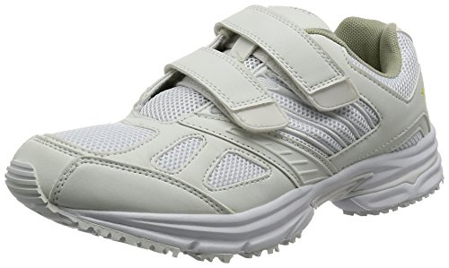 [AITOZ]アイトス 59708_001 29cm スニーカー 室内履き 静電 JIST8103相当 メッシュ 3E ホワイト