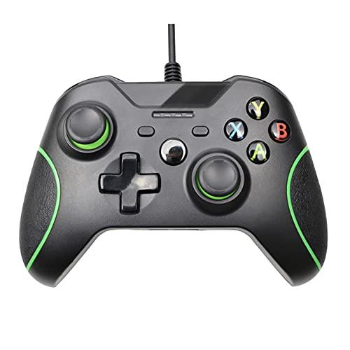 MKCUXC Controladores Controlador con Cable USB para Xbox One Videojuegos Joystick Mando...