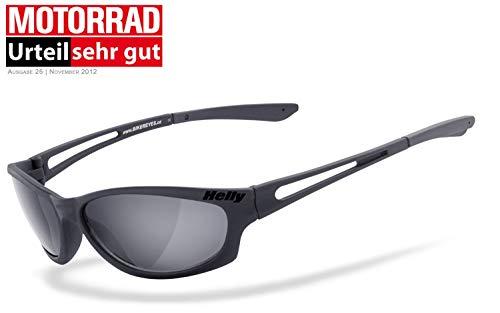Helly® - No.1 Bikereyes® | H-FLEX®- unzerbrechlich, UV400 Schutzfilter, HLT® Kunststoff-Sicherheitsglas nach DIN EN 166 | Bikerbrille, Motorradbrille, Sportbrille | Brille: flyer bar 2