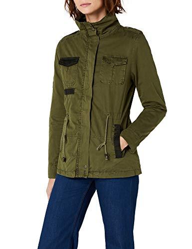 Brandit Summerdale Girlie Jacket, Chaqueta para Mujer, Grün (Olive 1), 42 (Talla del Fabricante: Medium)