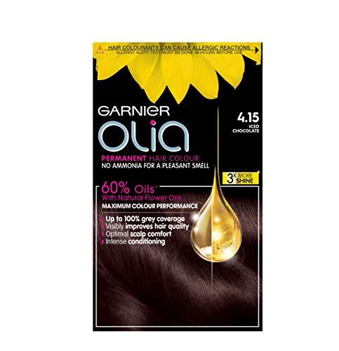 Garnier Olia permanent Hair Colour Iced Chocolate 4.15