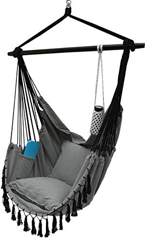 Project One Hanging Rope Hammock Chair,