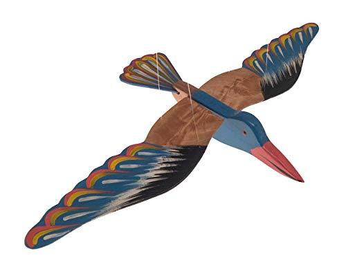 ROMBOL Schwingvogel, Schwingtier, Holz, Vogel, groß, V 4
