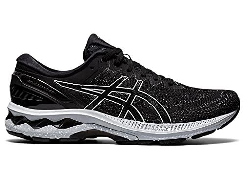 ASICS Men's Gel-Kayano 27 Running Shoes, 11M, Black/Black/White