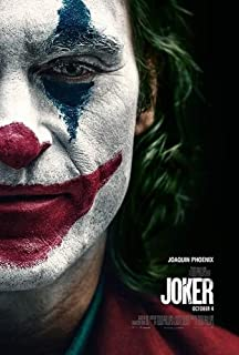 The Joker 2019 - Half Face - Wall Poster Print 24in x 36in