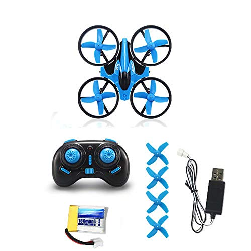 QSs- 2.4G Mini Drone 4-Axis Gyro,With One Key Takeoff And Landing,Auto Return And 6-Minute Flight Time,Headless Mode, 3D Flips,for Beginner