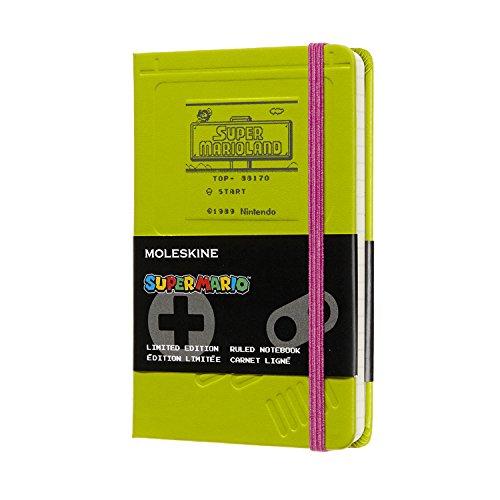 モレスキン ノートブック 限定版スーパーマリオ ゲームボーイ ポケット 罫線