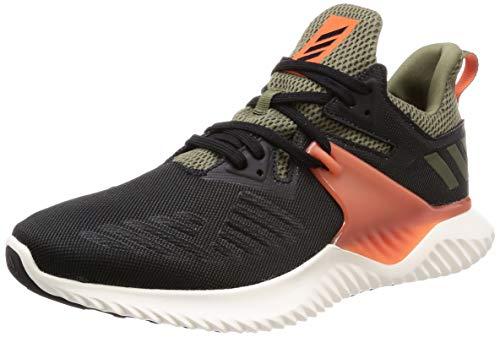 Adidas Alphabounce Beyond 2 m, Zapatillas de Trail Running Unisex Adulto, Multicolor (Negbás/Negbás/Naranja 000), 44 2/3 EU