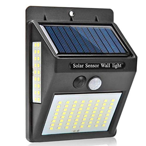 BiaBai Iluminación exterior LED Luz solar de pared Lámpara exterior impermeable LED con sensor de movimiento PIR Luz de calle exterior