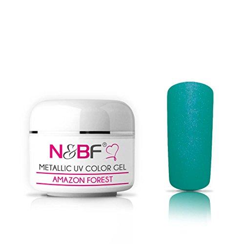 Gel Couleur Metallic Light Pink 5 ml-effet métallique