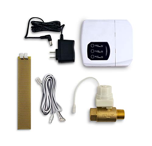 LeakSmart Automatic Leak Detection and Water Shut Off Kits- Protect Your Home from High Leak Risk Appliances (3/4' Water Tank)
