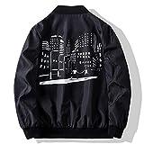 6. Mens Jackets Slim Fit Lightweight Softshell Flight Bomber Jacket Coat Casual Full Zip Windbreakers Fashion Outerwear