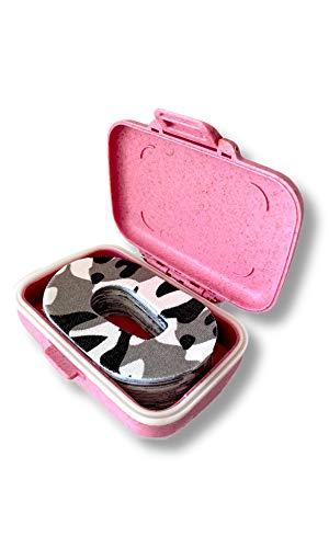FixTape Sensor-Tape Box für Dexcom G6 I selbstklebendes Patch mit Loch für Glukose-Sensor I hoher Trage-Komfort I hautfreundlich & wasserfest in modernen Designs I Box I 30 Stk (Arktis)