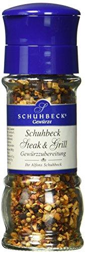 Schuhbeck Schuhbecks Gewürzmühle Steak & Grill, 1er Pack (1 x 55 g)