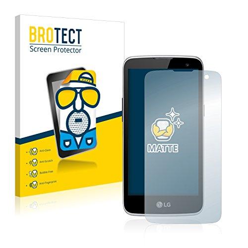 BROTECT 2X Entspiegelungs-Schutzfolie kompatibel mit LG K4 LTE Bildschirmschutz-Folie Matt, Anti-Reflex, Anti-Fingerprint