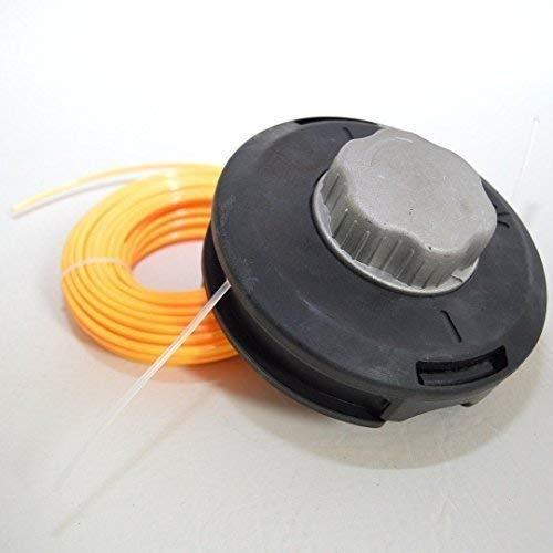 Powermat automatische draadkop maaikop bosmaaier bosmaaier + 15 m maaidraad 3 mm