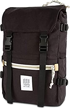 Topo Designs Rover Pack Black Canvas One Size