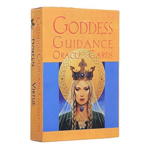 Chou Lot de 44 cartes de tarot Oracle avec guide de déesse