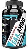 Aminoácidos esenciales EAA en dosis elevadas 150 cápsulas, 1000 mg de EAA por cápsula vegana sin añadidos Incluye BCAA - de la marca de deporte profesional FSA Nutrition