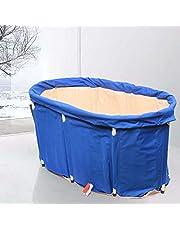 Draagbare indoor outdoor badkuip waterbad volwassenen spa bad SPA opblaasbare opvouwbare PVC kinderen bad bad met 1 badhoes, 5 badtas en 1 opbergtas