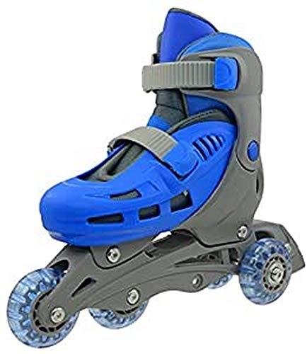 SULOV Kinder Triskate Rollschuhe, Blau, XS