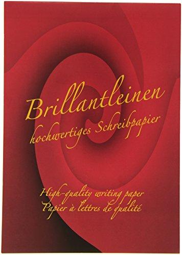 Rössler 20201834 - Brillantleinen - Briefblock A4, blanko (50 Blatt, ) ivory