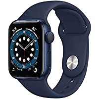 Apple Watch Series 6 40mm GPS Bluetooth SmartWatch (Deep Navy Band)