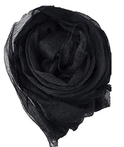 エアリーカシミヤ100%エンジェルストール(ブラック)