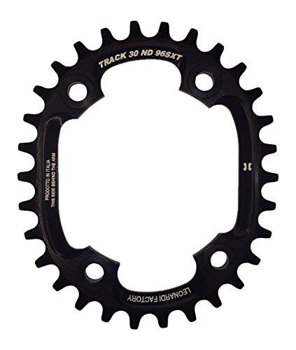 Leonardi Factory Oval Track BCD 96 XT Plato de Bicicleta, Hombre, Negro, 30
