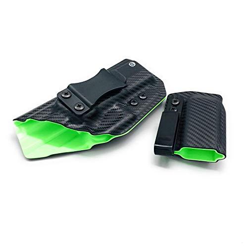 Neptune Concealment Dual Layer IWB Kydex Gun Holster & Mag Pouch for CZ 75D PCR Compact - Veteran Made USA - Gemini Series