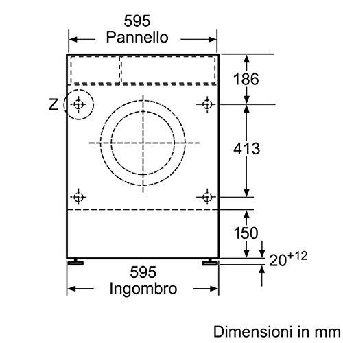 Neff V6540X0EU Integrado Carga frontal B Blanco lavadora ...