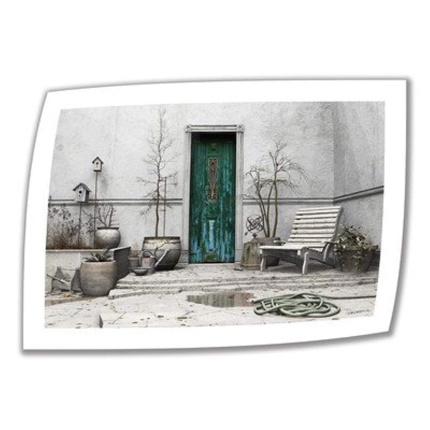 タブレットトレイ植生Cynthia Decker アートウォールウィンターガーデン 50.8×71.12cm ラップなしキャンバスアート 5.08cmアクセントボーダー