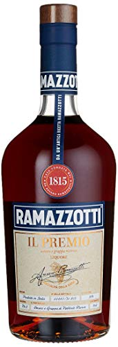 Ramazzotti IL PREMIO – Italienischer Halbbitter-Likör – Kräuterlikör aus Grappa und Amaro für einen vollmundigen und ausgewogenen Geschmack – 1 x 0,7L