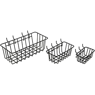 Dorman Hardware 4-9845 Peggable Wire Basket Set, 3-Pack