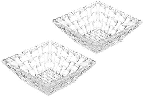 Nachtmann (ナハトマン) 小鉢 透明 サイズ 直径/12cm 高さ/4.5cm ダンシングスター ボサノバ 89694 2枚入 2個セット