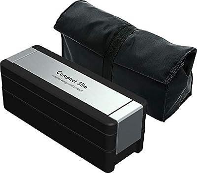 岩崎工業 弁当箱 イージーケア メンズランチボックス 2段 保冷バッグ付 950ml Lustroware B-1482MA