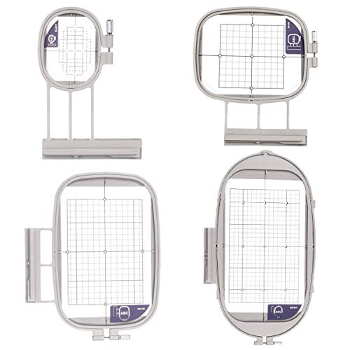 4 Embroidex Hoops for Brother/Babylock Embroidery Machine (SA437, SA438, SA439, SA441)) Duetta Quatro Dreammaker Dreamweaver innovis Luminaire Innov-ís XP