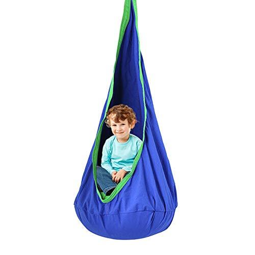 Hamac - Silla infantil plegable para niños, para asiento, de tela para exteriores, para interior o para colgar en la cama, para cumpleaños, año nuevo, regalo